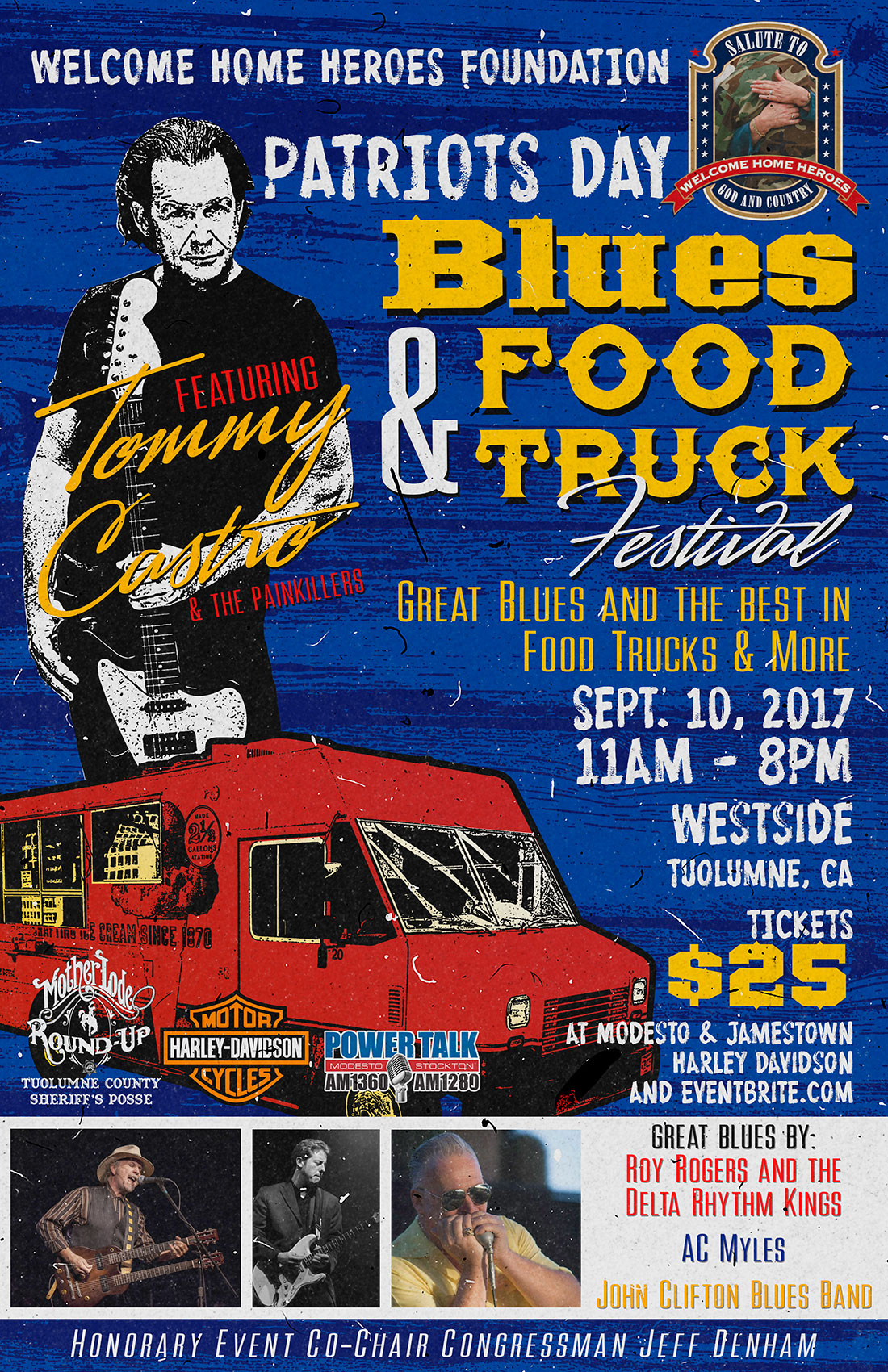 Blues and Food Truck Festival