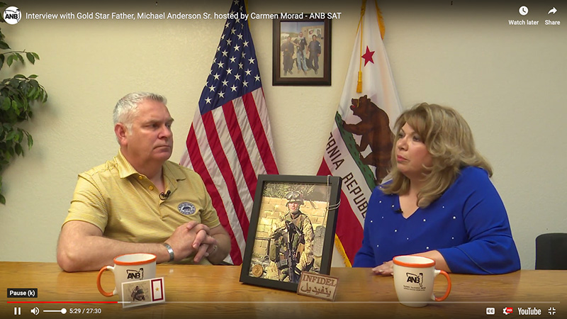 Interview with Gold Star Father, Michael Anderson Sr.