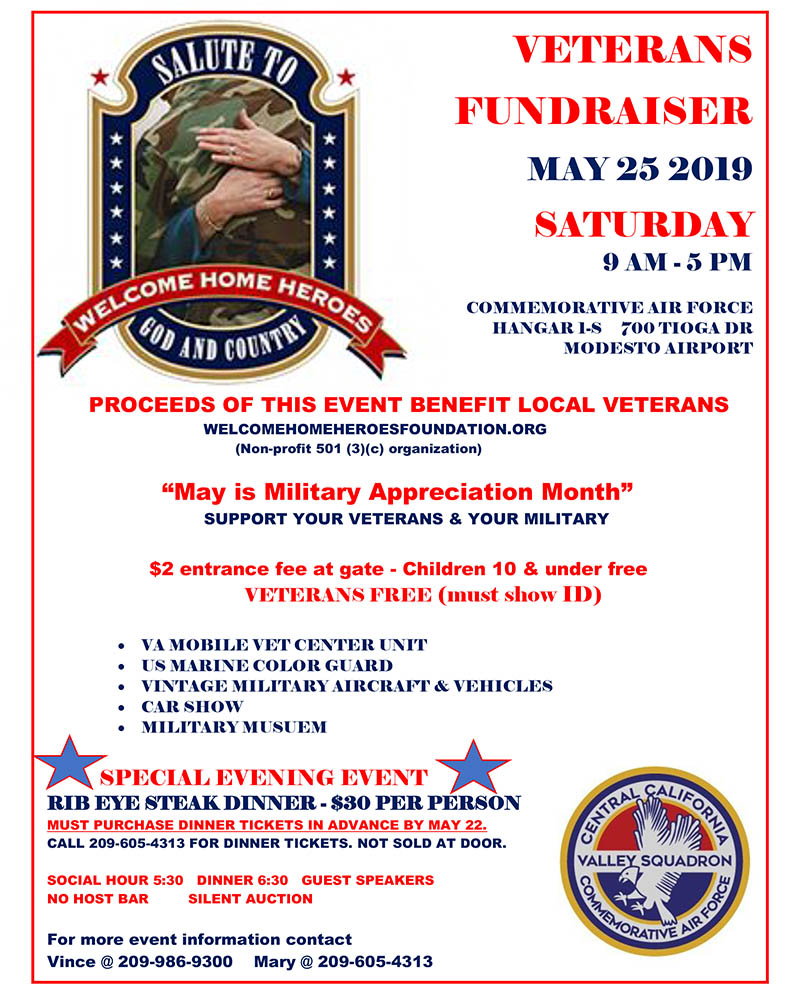 Veteran's Fundraiser 2019 - Welcome Home Heroes Foundation